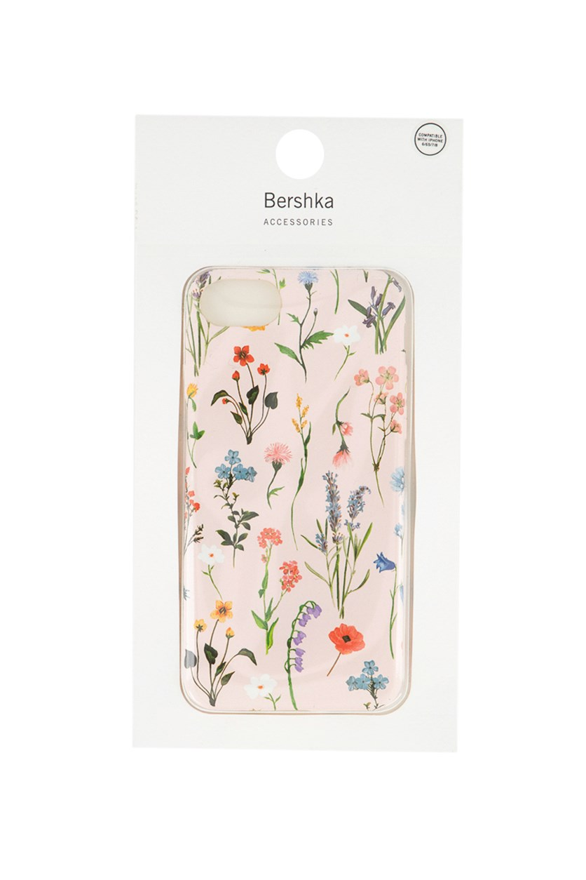 Floral Iphone Case, Pink Combo