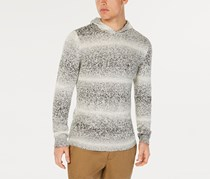 American Rag Cie Men's Hooded Sweater, White/Grey