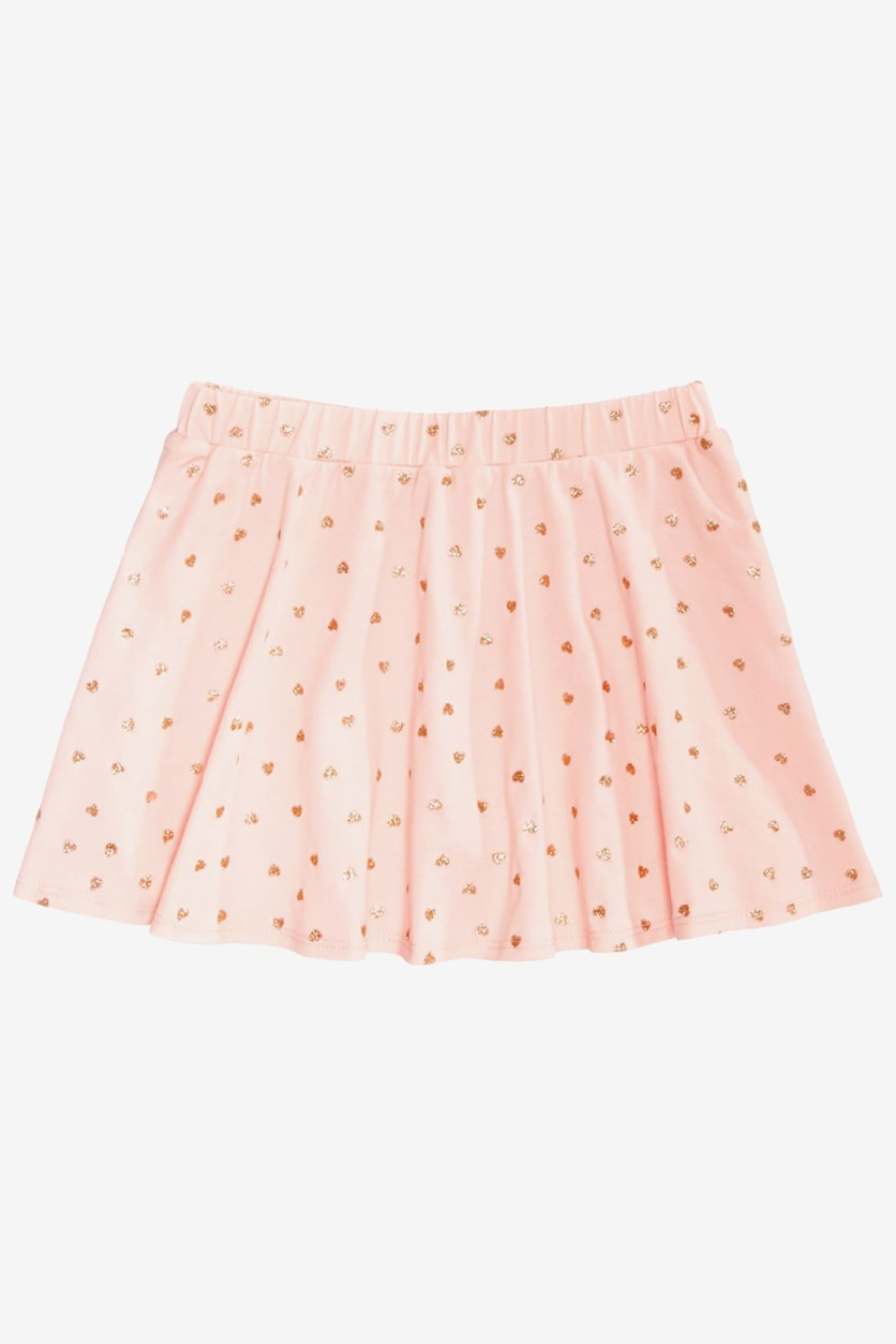 Toddler Girls' Printed Scooter Skirt, Opal Blush