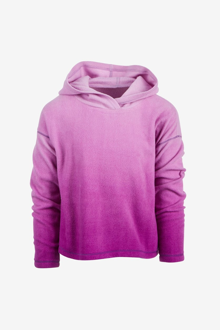 Toddler Girls Ombre Hoodie, Purple