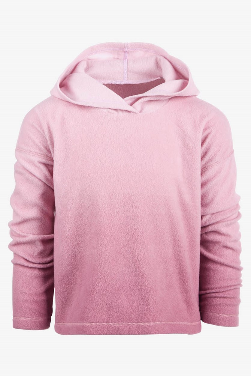 Toddler Girls Ombre Hoodie, Lilac