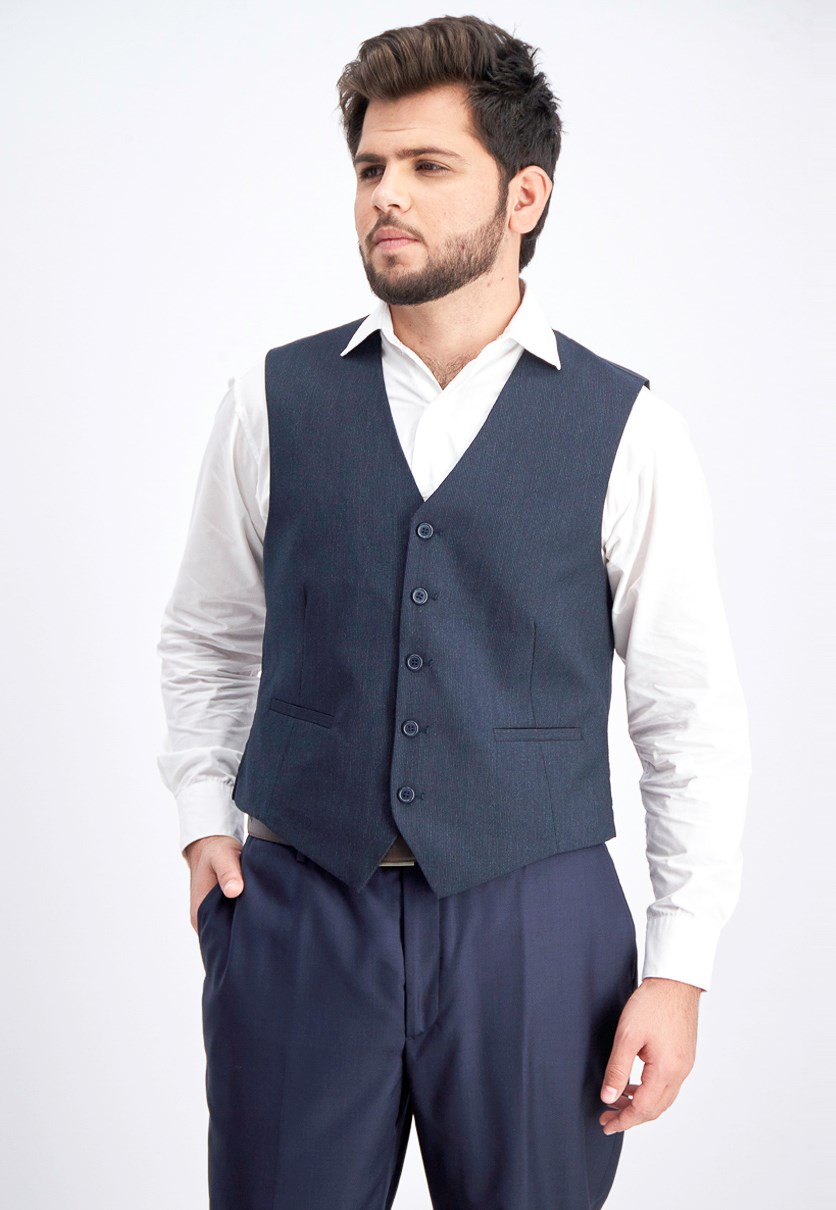 Men's Sleeveless Vest, Navy