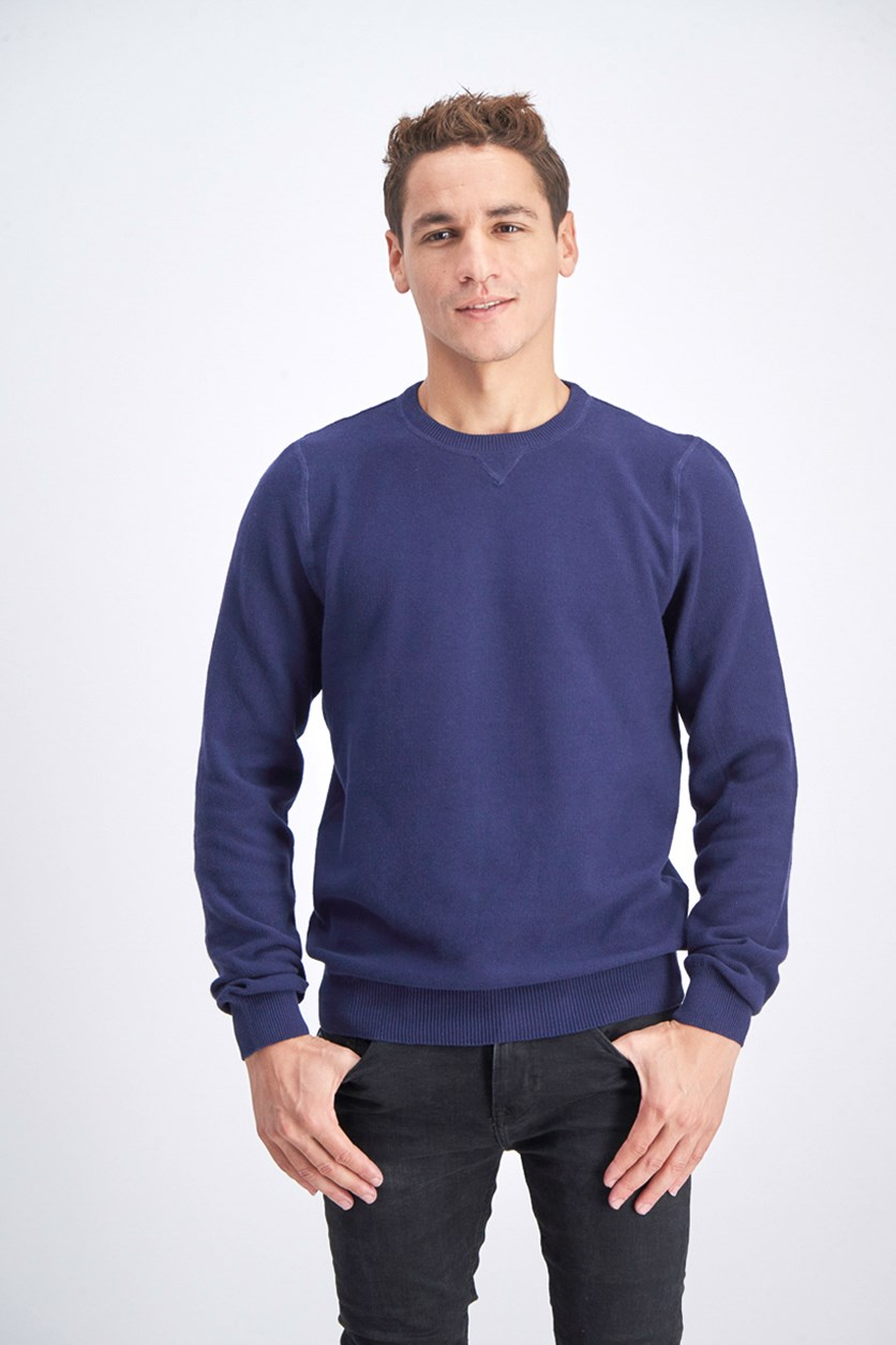 Men's Pullover Sweatshirt, Blue