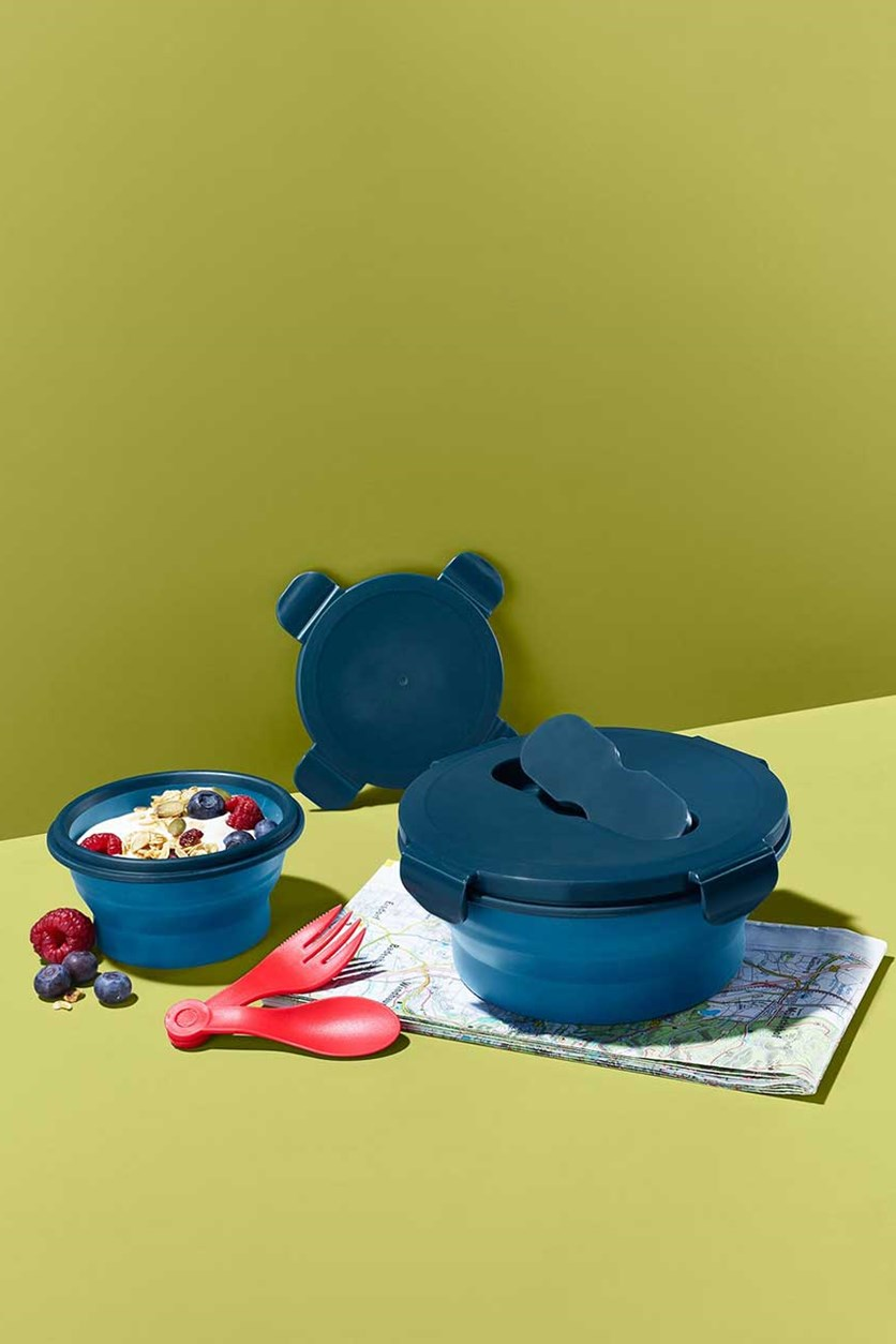 Food Storage Boxes, Dark Blue