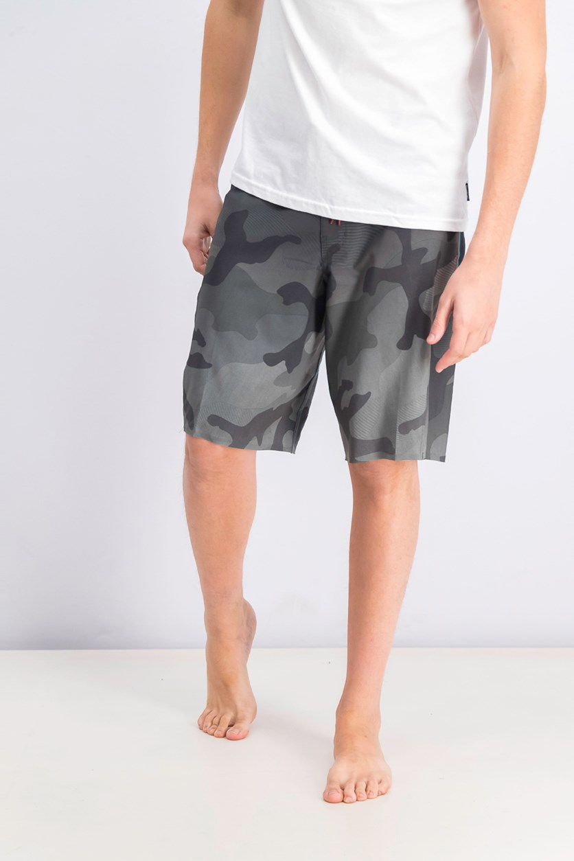 Men's Fluid X Board Short, Charcoal
