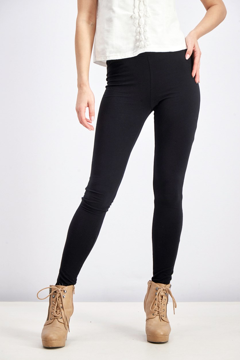 Women's Pure Leggings, Black