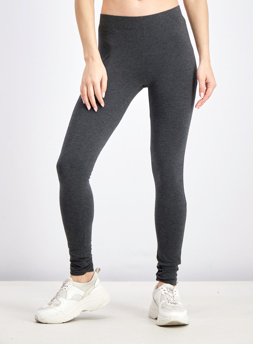 Women's Pure Leggings, Charcoal Heather