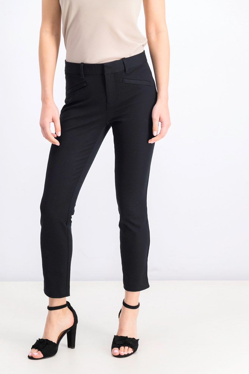 Women's Skinny Ankle Pants, Black