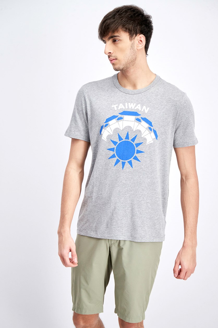 Men's Regional Tee, Heather Grey