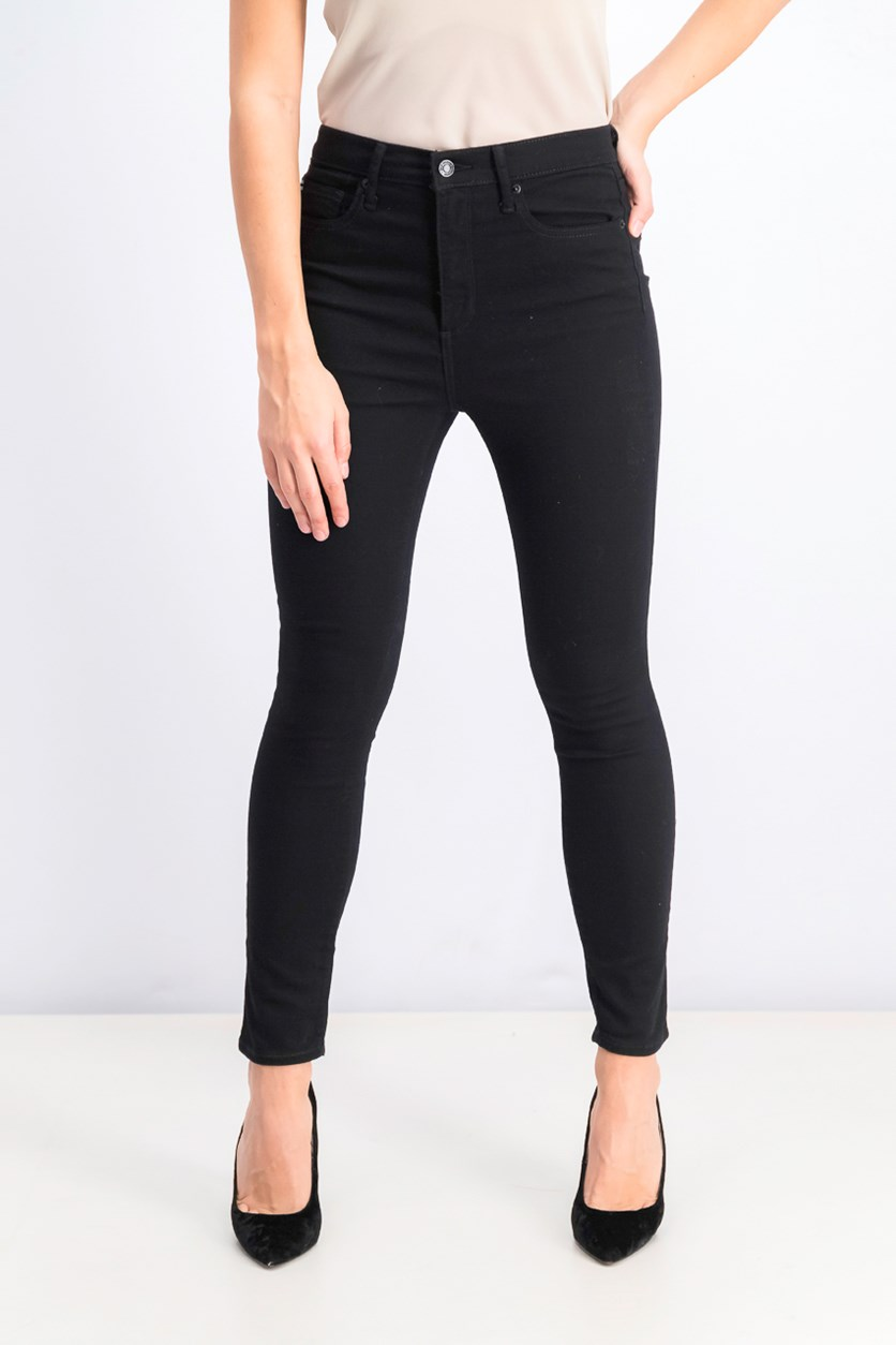 Women's Stretch True Skinny Jeans, Black