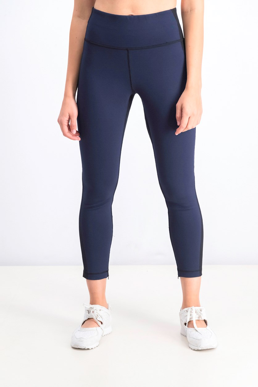 Women's Pull On Leggings, Navy/Black