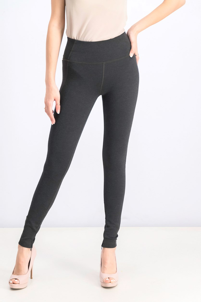Women's Sculpt Ponte Pants, Charcoal Heather
