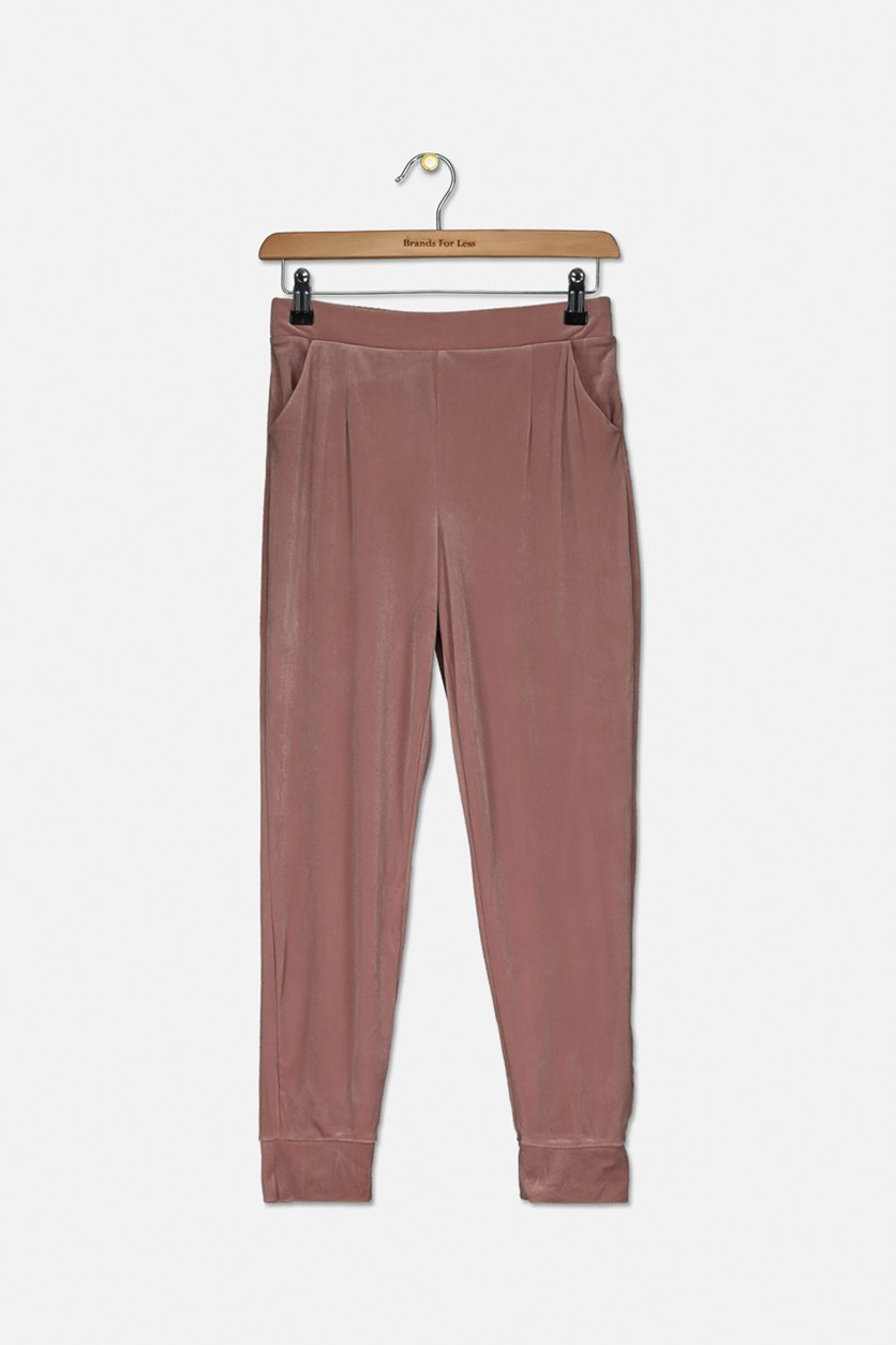 Girl's Pull On Pants, Old Rose