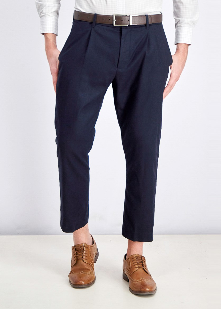 Men's Slim-Fit  Pants, Navy