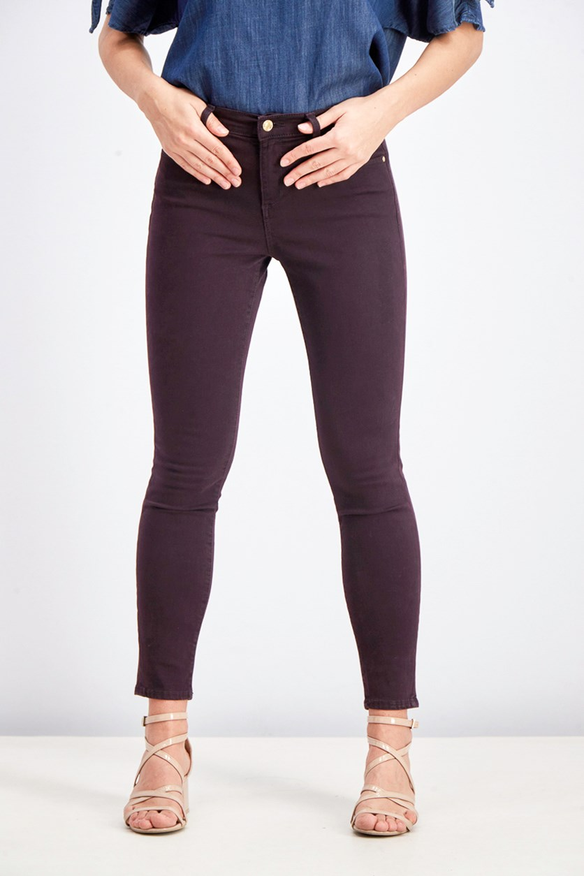 Women's Sculpt True Skinny Jeans, Purple