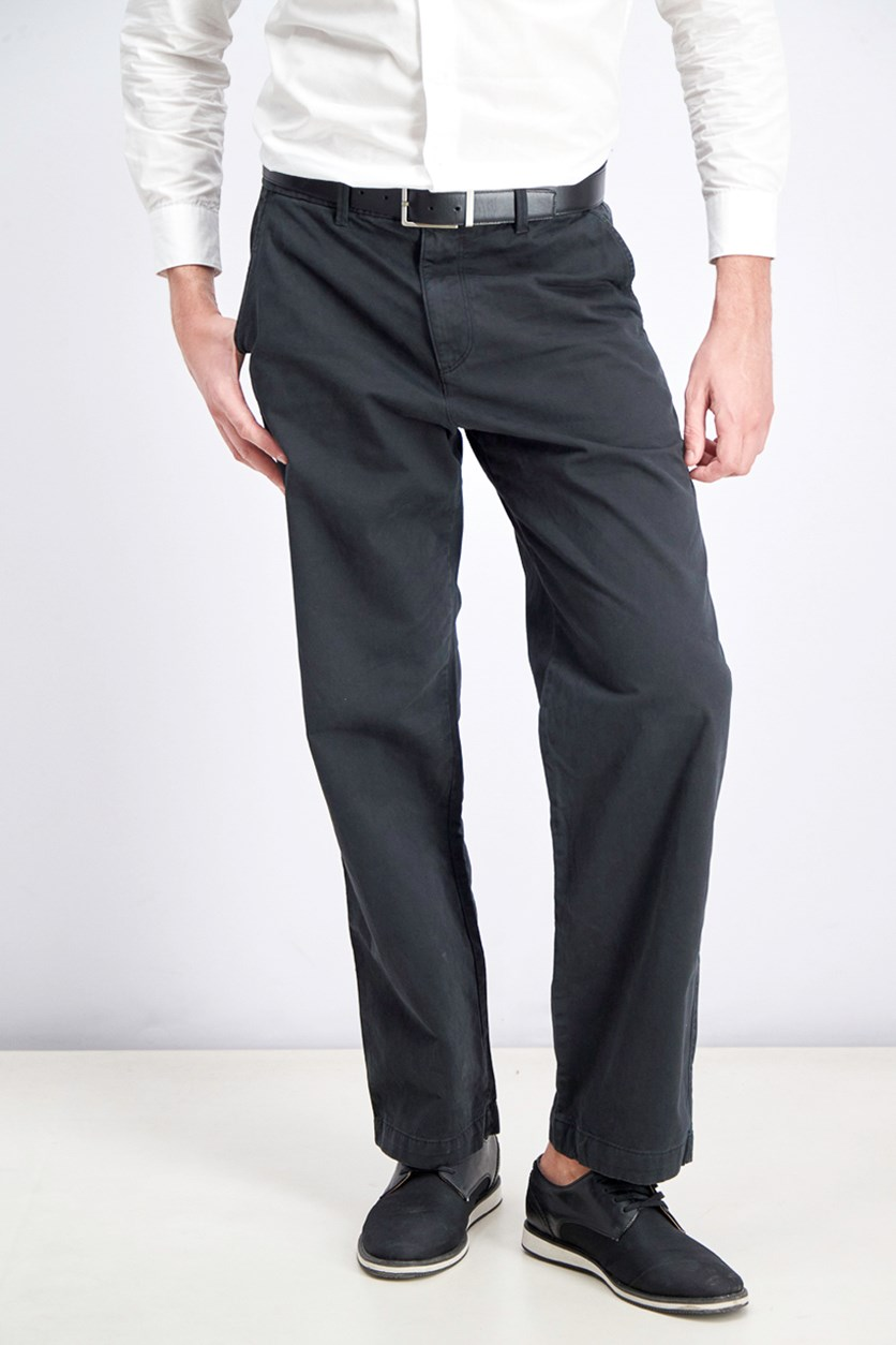 Men's Pull-on Pants, Black