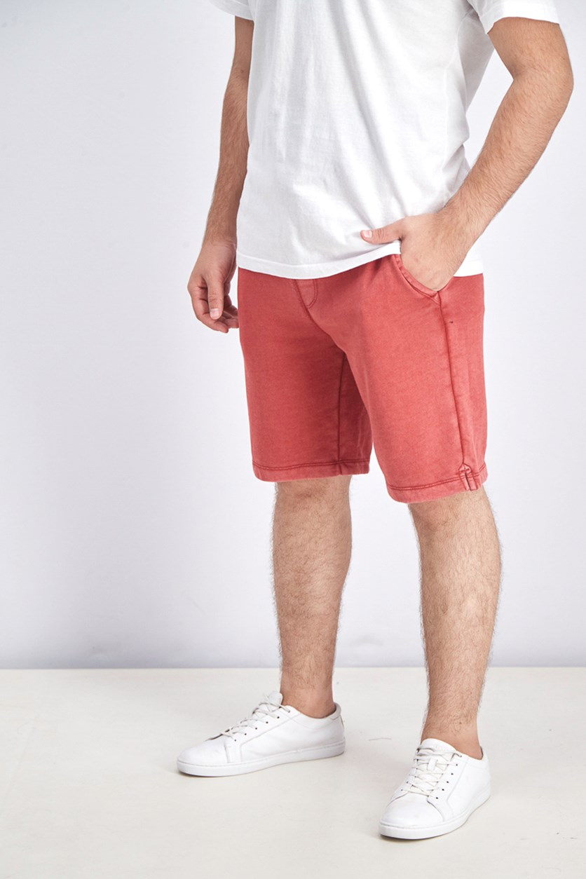 Men's Drawstring Shorts, Red Hawk