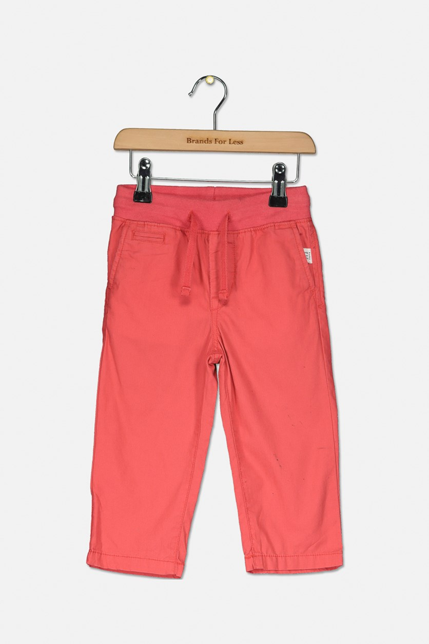 Toddler Boy Chino Pants, Spring Coral