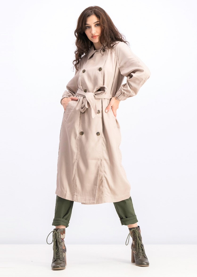 Women's Trench Coat, Brown