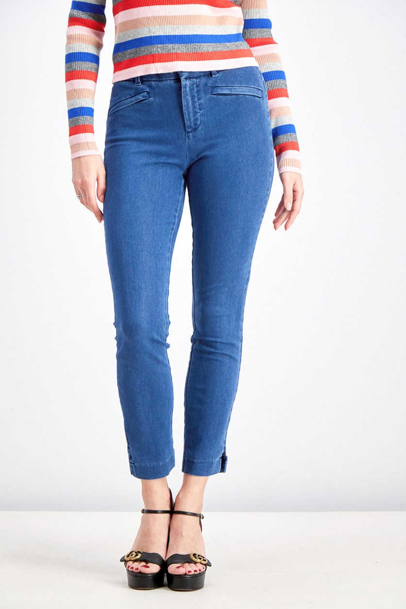 Women's Signature Skinny Ankle Jeans, Blue