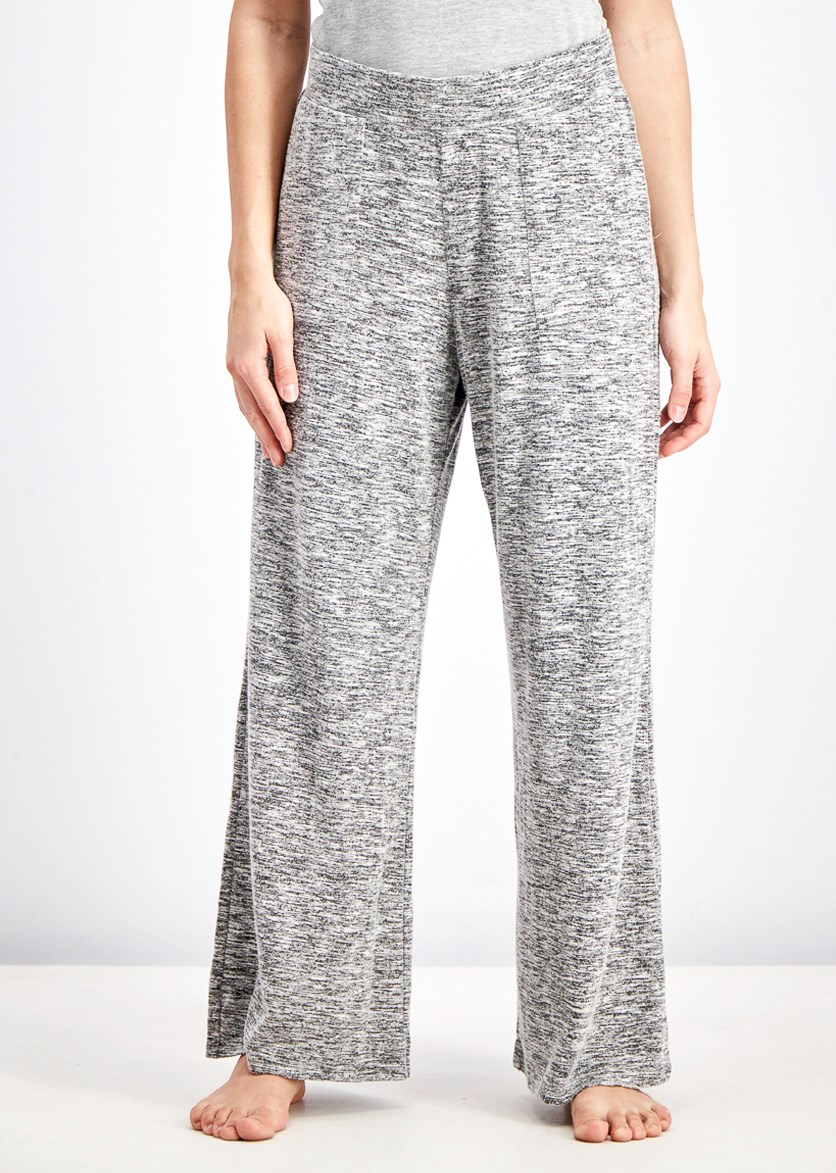 Women's Pull-On Pants, Grey Heather