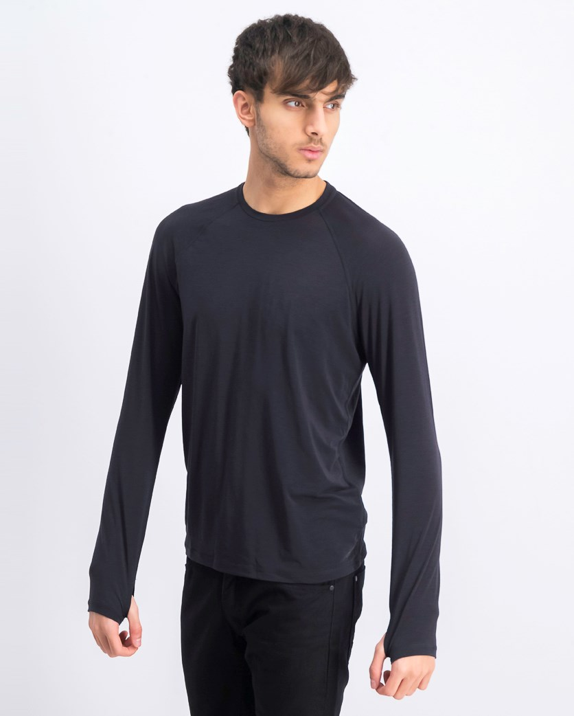 Men's Long Sleeve Shirt, Dark Navy