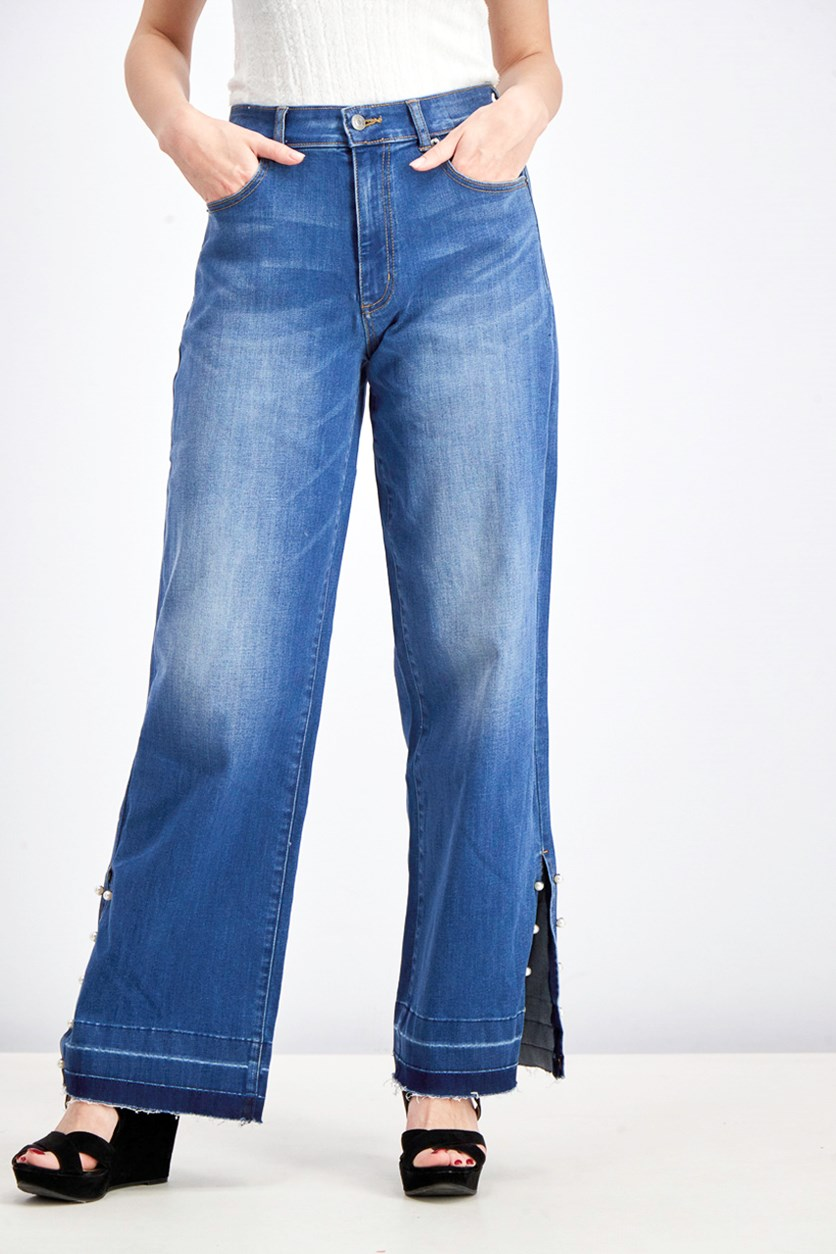 Women's Denim Jeans, Blue
