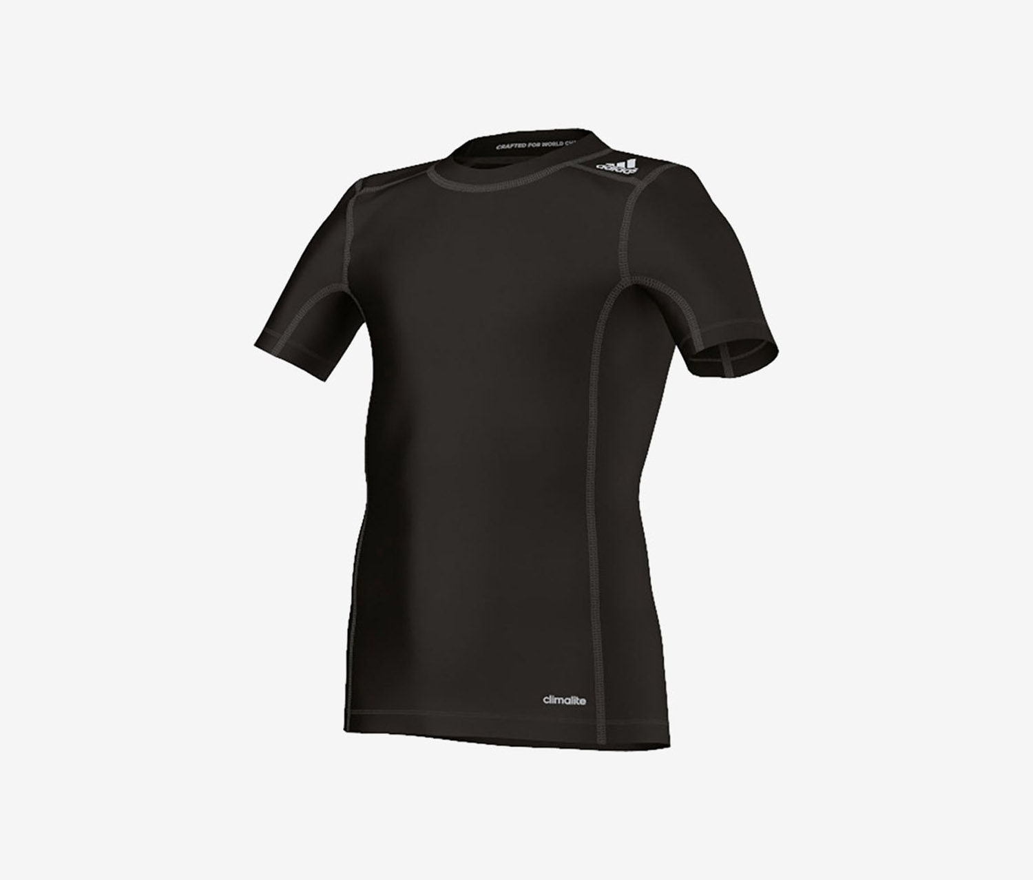 TechFit Base Shirt, Black