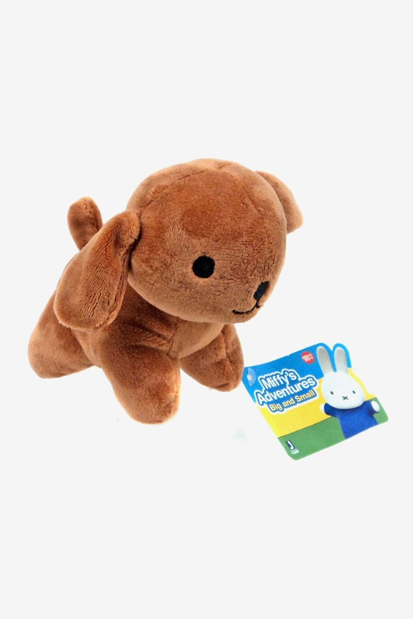 Miffys Adventures Snuffy Puppy Dog, Brown