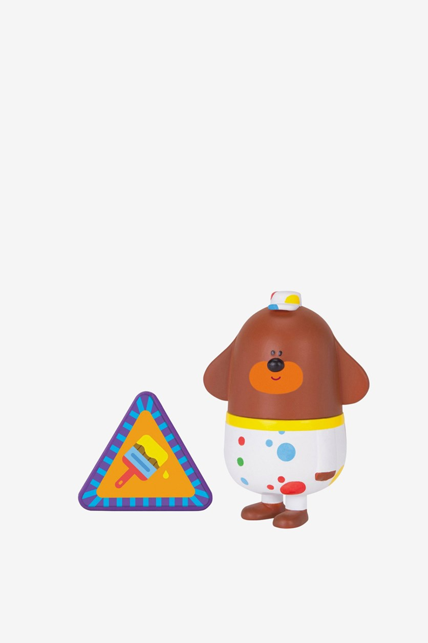 Hey Duggee Decorating Duggee Figure With Badge, Brown/White