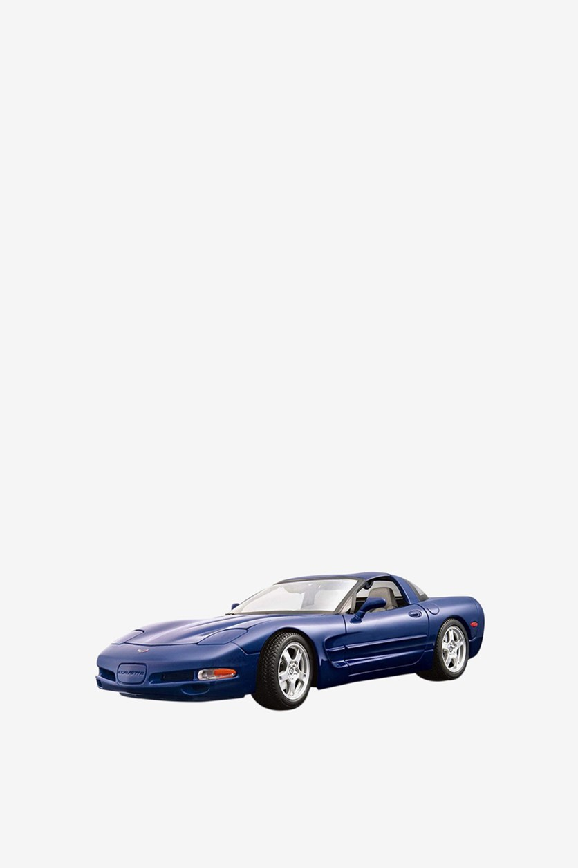 Chevrolet Corvette, Navy Blue/Silver