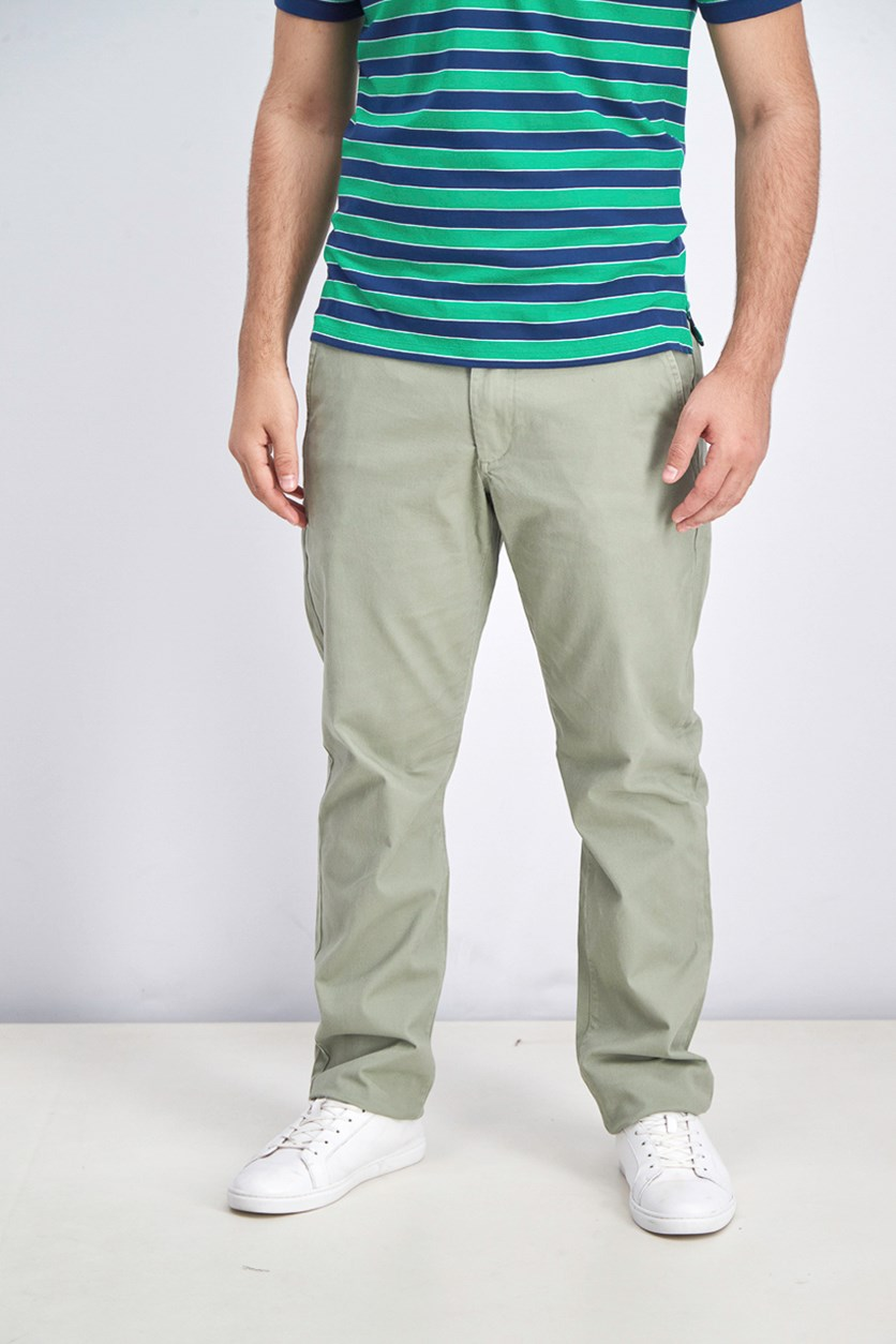 Men's Castleton Chino Pants, Light Army Green