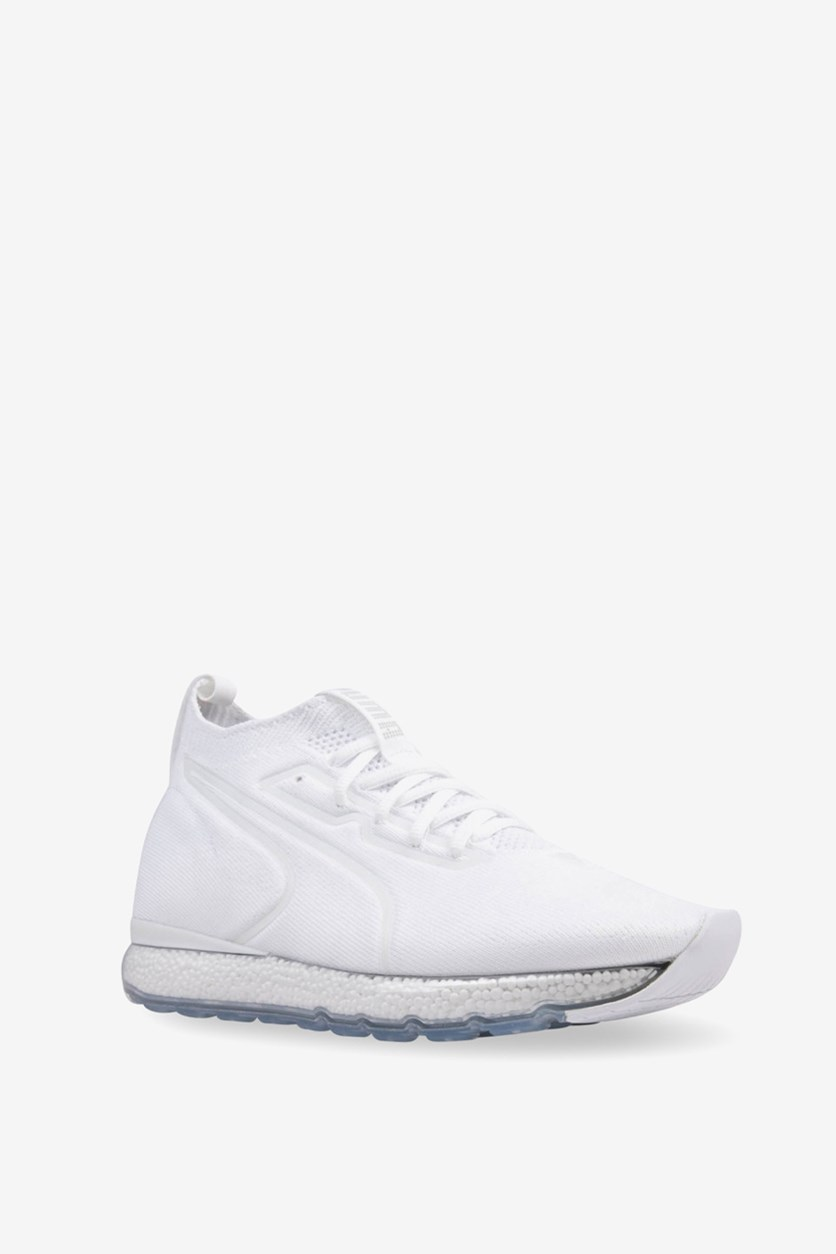 Jamming Lace-up Mid Sneakers, White