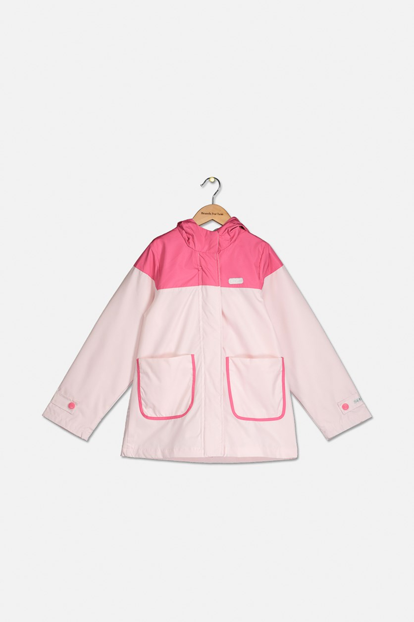 Girl's Hooded Jacket, Pink