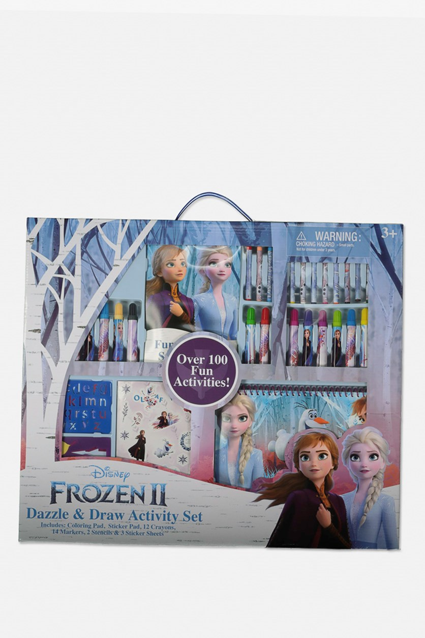 Frozen 2 Ultimate Art Set In Large Box, Blue