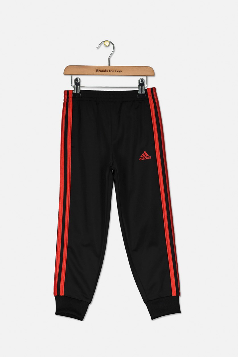 Kid's Boy's Impact Tricot Joggers, Black/Red