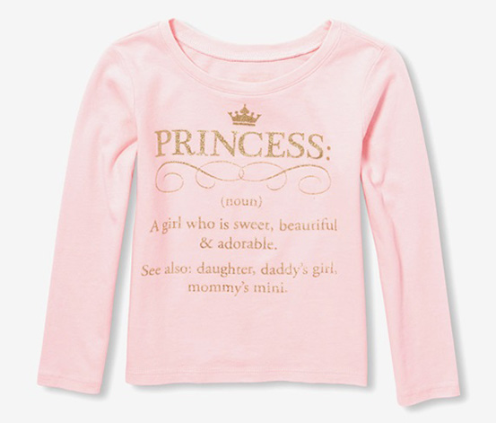 Girl's Top, Pink