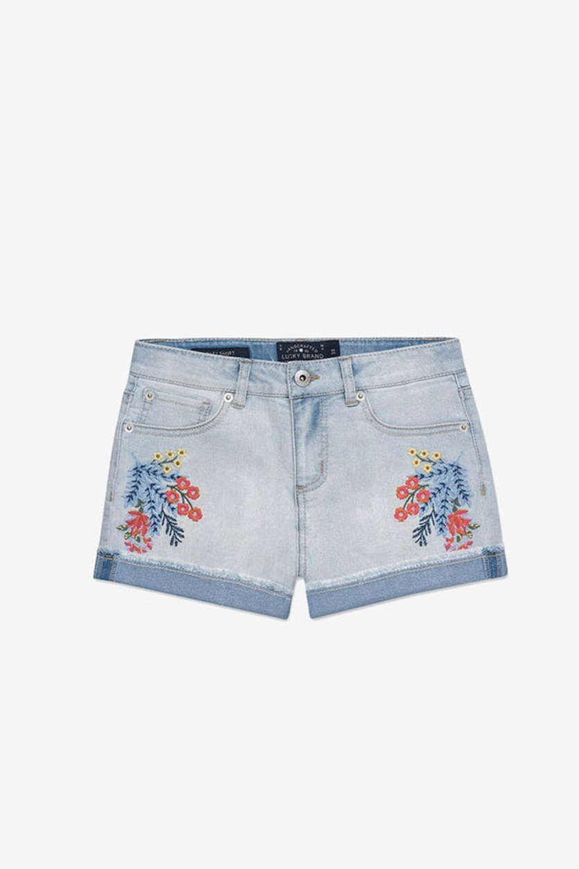 Toddlers Girls Brandi Short, Bella Wash
