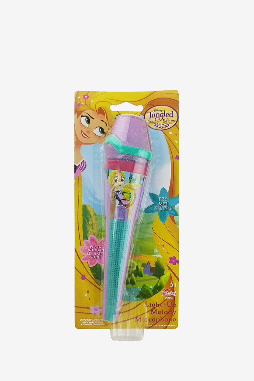 Tangled Light Up Melody Microphone, Purple/Mint Combo