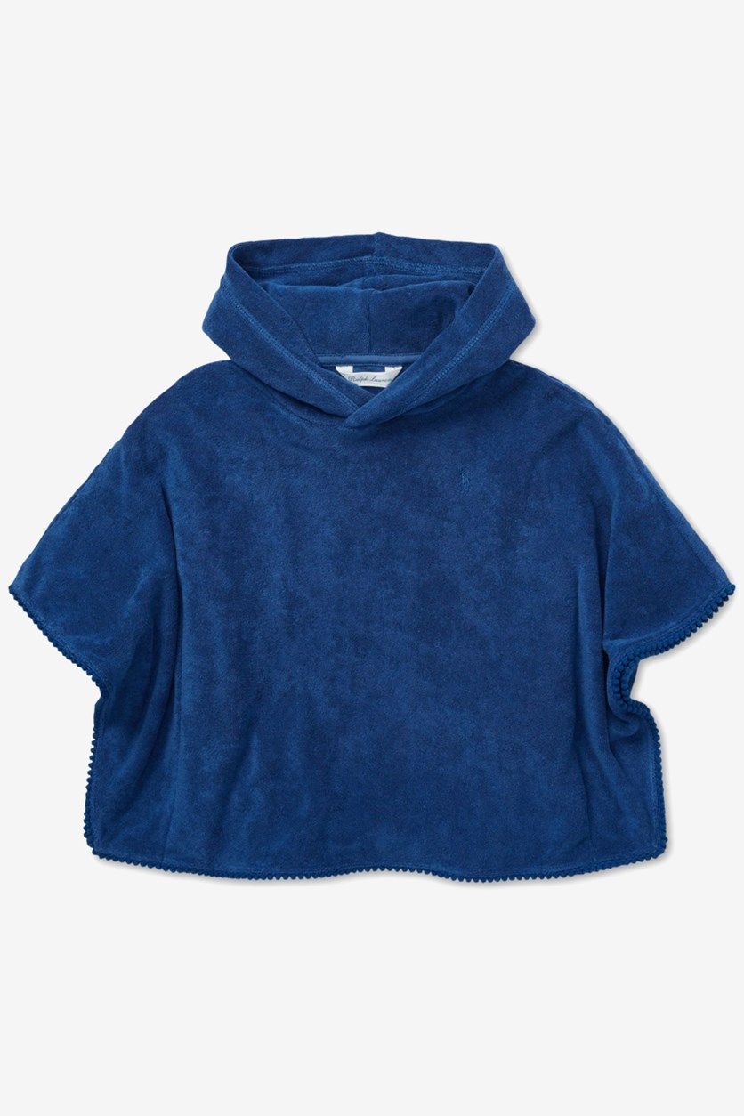 Baby Boys French Terry Cover-Up, Blue
