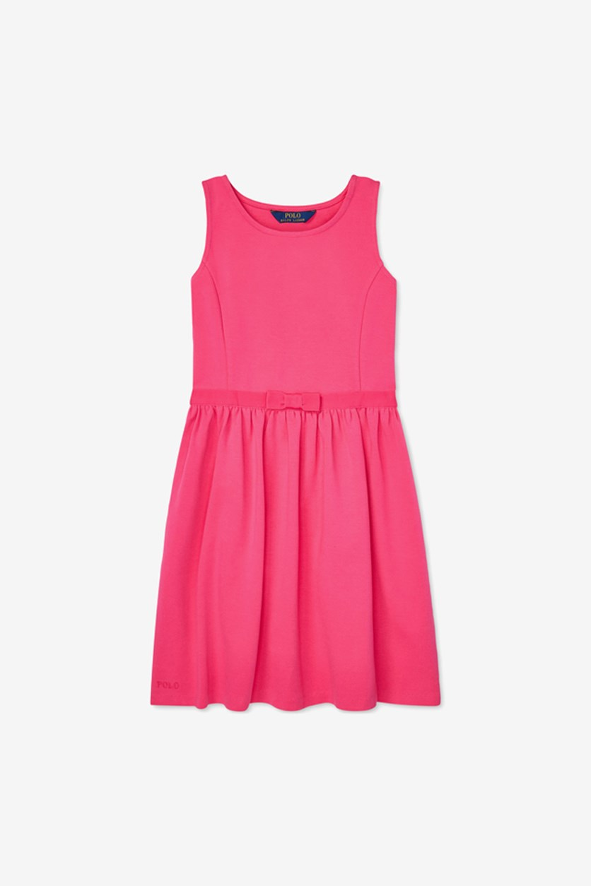 Big Girls Ponte-Knit Dress, Pink