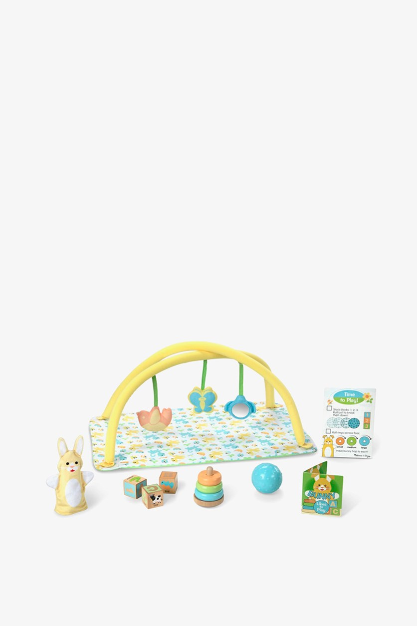 Mine to Love Toy Time Play Set for Dolls, White/Green/Yellow Combo