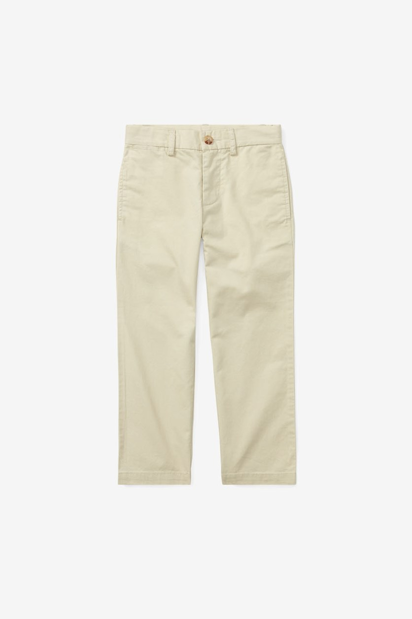 Kids Boys Pull On Pants, Khaki