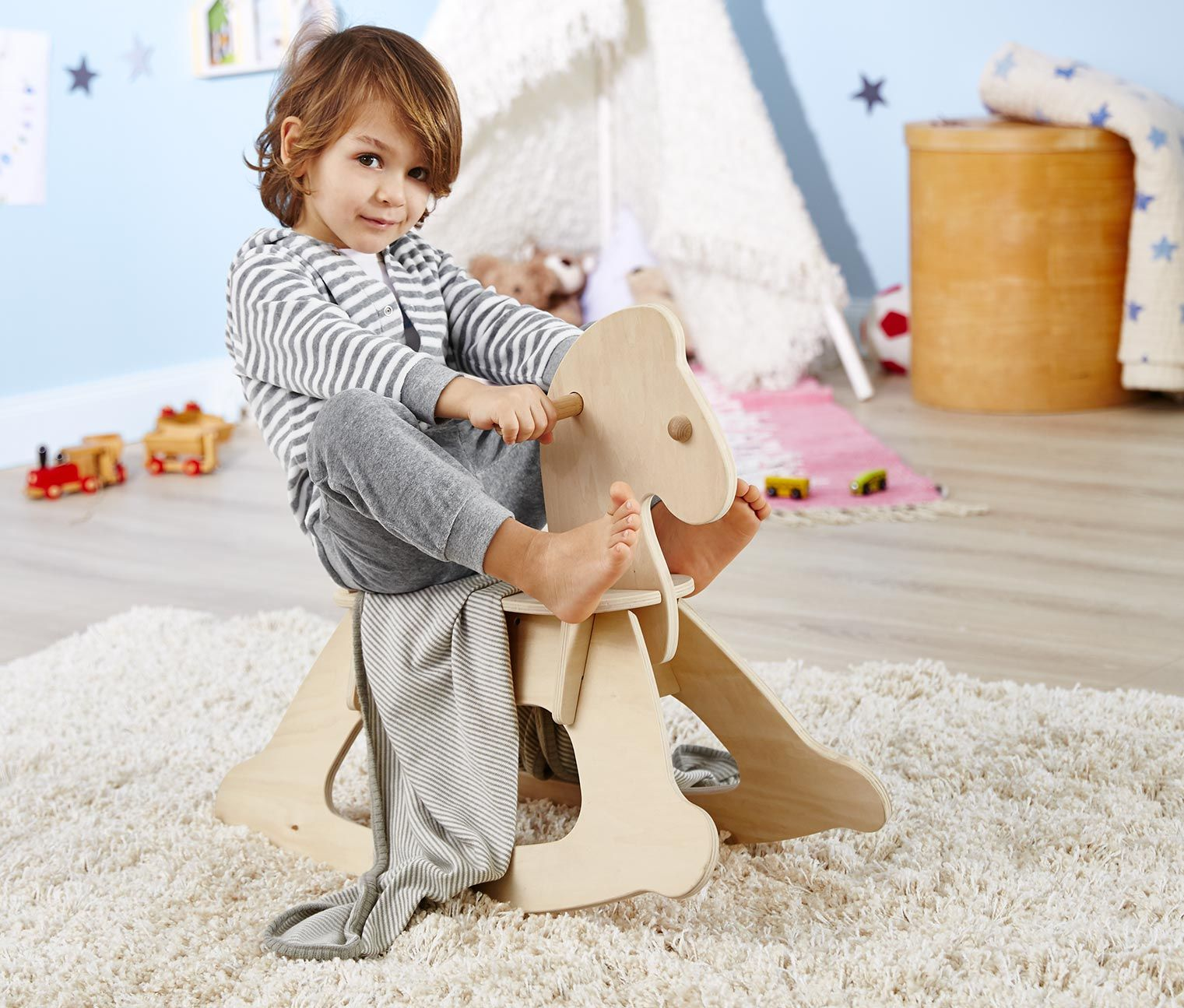 Toy's Rocking Horse, Wood