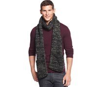 Men's Multi-Knit Pocket Scarf, Gray