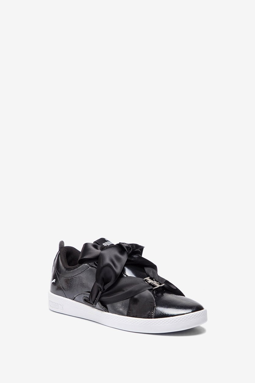 Women's Smash BKL Patent Sneakers, Black/White