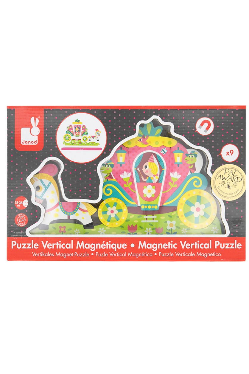 Janod Magnetic Princess Puzzle, Green