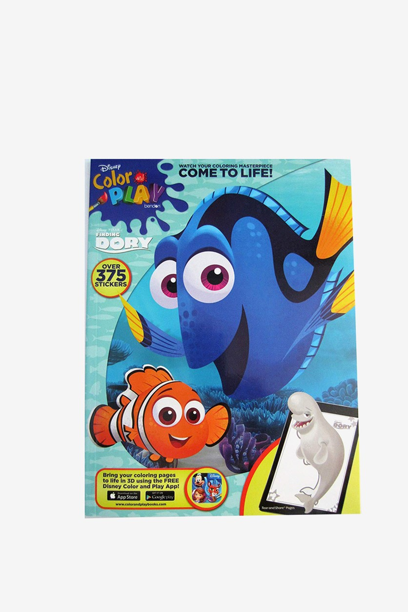 Finding Dory Color And Play, Blue/Orange