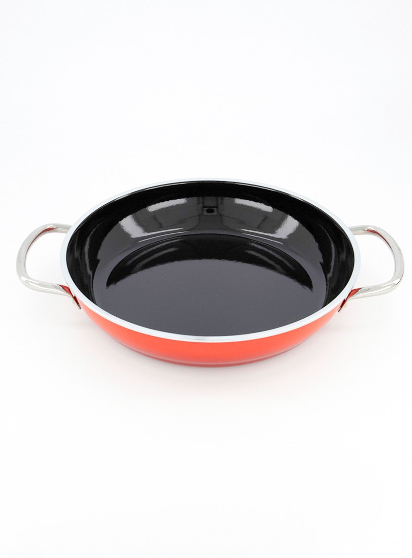 Serve Pan 28cm, Red