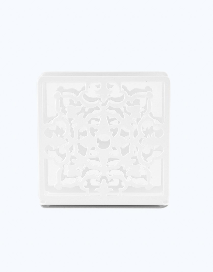 Napkin Holder, White